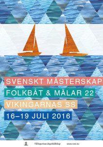 SM i M22 och Folkbåt 2016