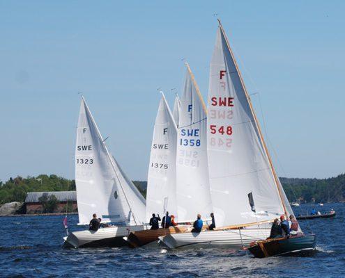 Search Magazine Classic yacht challenge Lagkappsegling för Nordisk Folkbåt den 6 juni